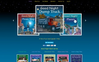 Wordpress E-commerce, Custom Theme and Development - Good Night Books