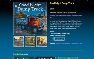 Wordpress E-commerce & Theme Customization and Development - Good Night Books
