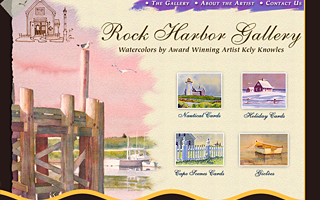 Rock Harbor Gallery, design.
