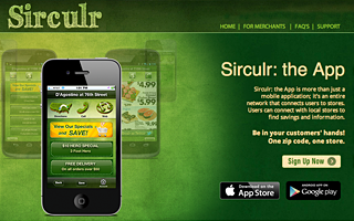 Mobile Application Development - The Sirculr App for iPhone & Android.