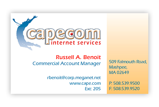 Cape.Com Business Card