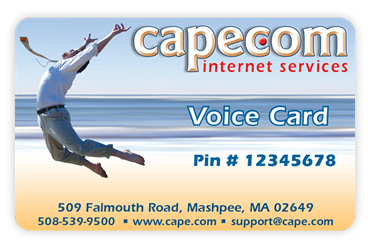 Cape.Com Voice Card