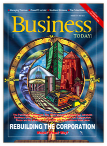Magazine Cover Illustration, Business Today