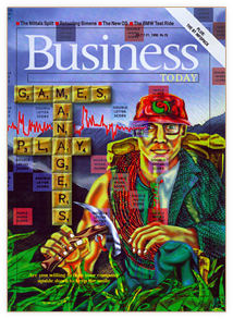 BusinessToday Magazine Cover Illustration