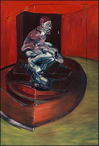 Francis Bacon's portrait Study from Innocent X