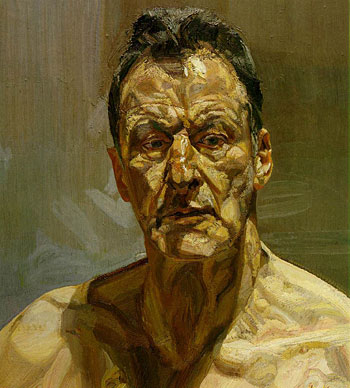 Lucien Freud, Reflection, 1985